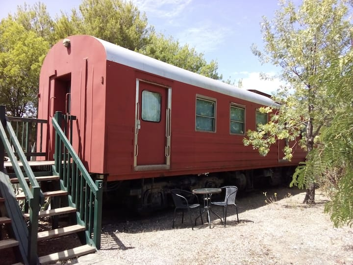 Railcar #3 Riverton Railway Station