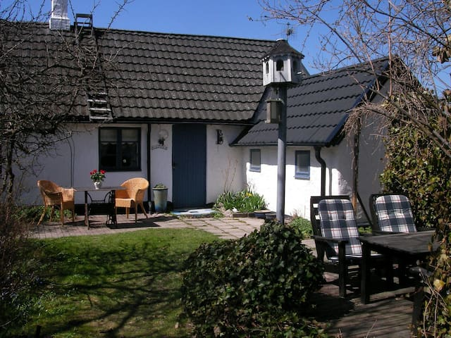 Lovely cottage at the south coast 3,5km to the sea