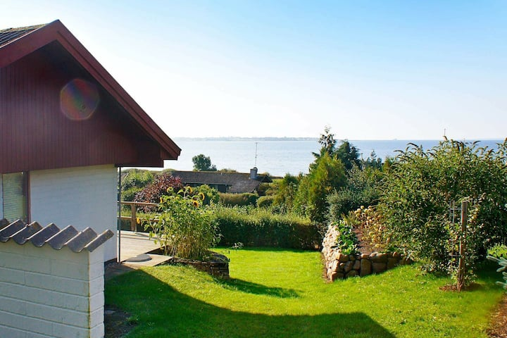 Gemütliches Ferienhaus in Faabord nahe dem Meer