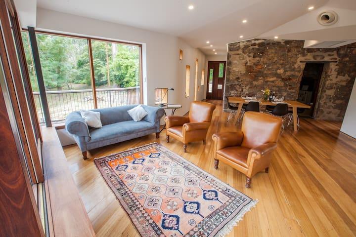 Ochre House, Mount Lofty - Lovingly restored home.