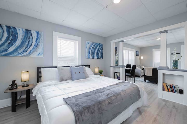 ✵ Newly Renovated Luxury 1BR Apt - Downtown Spfd ✵