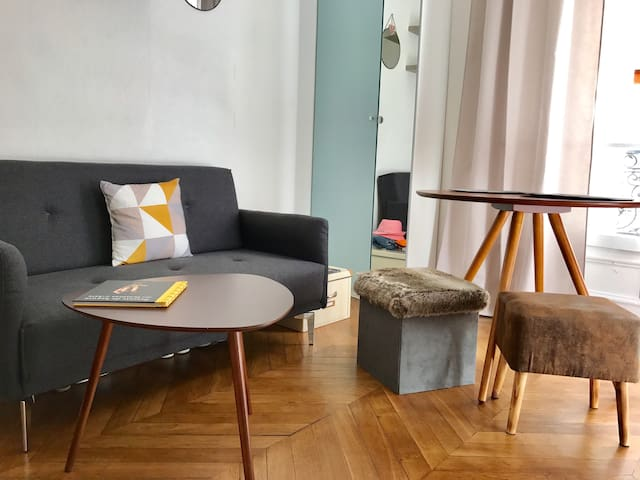 Studio Montmartre (Mobility lease/bail mobilite)