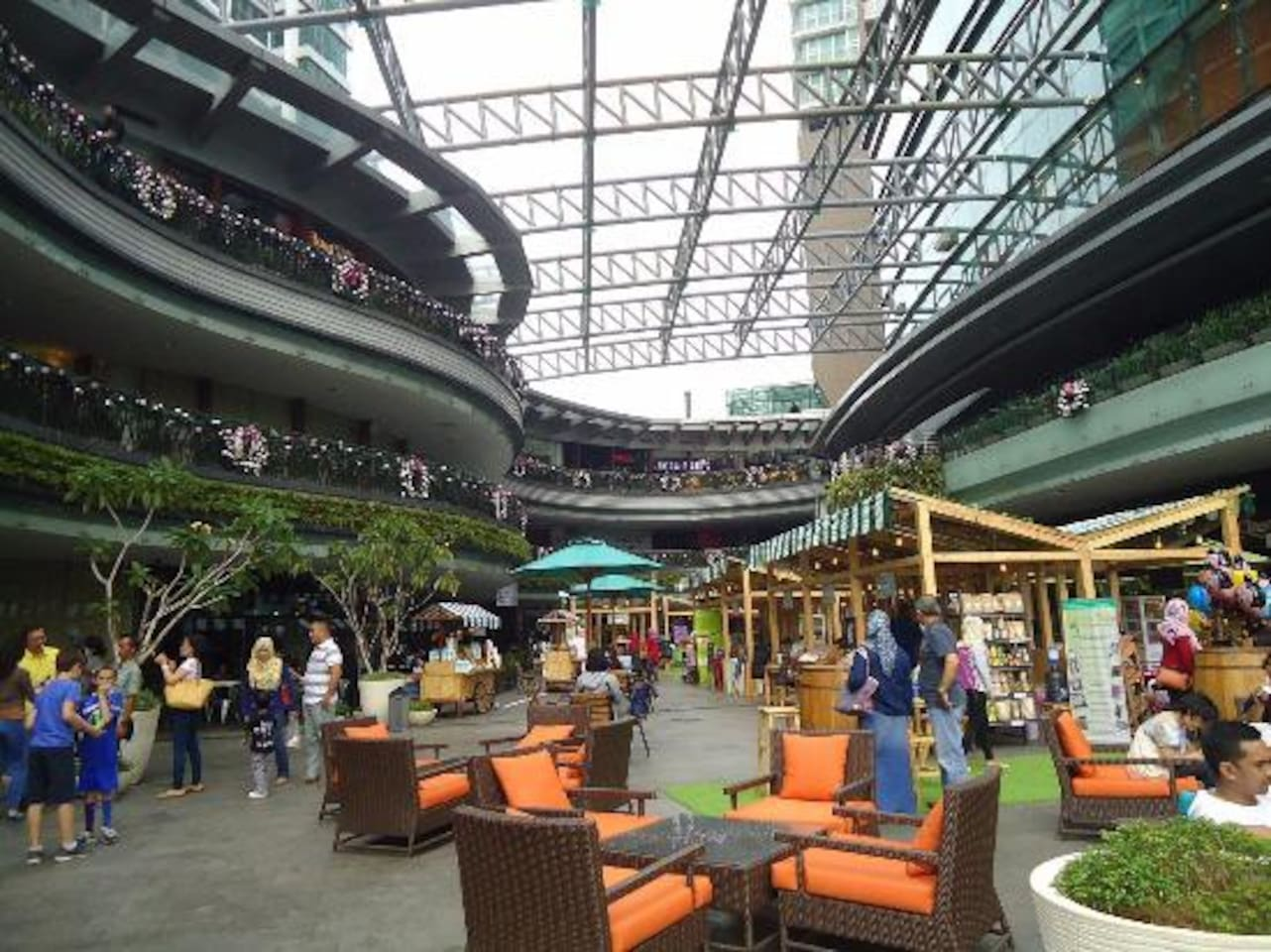 Food Market Area