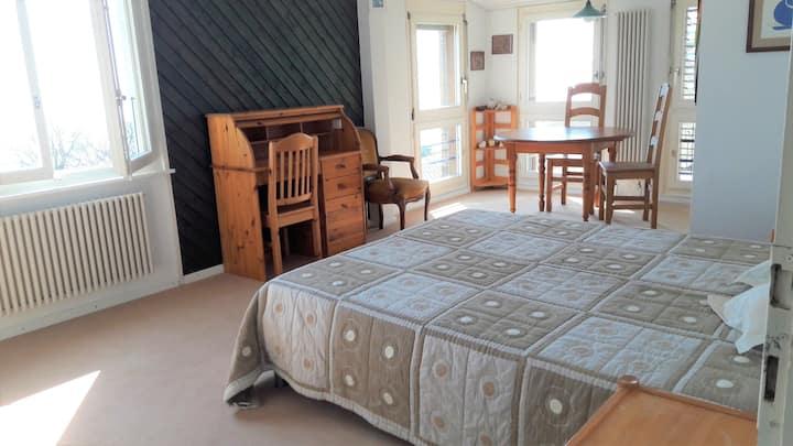 Corseaux s/Vevey : maison avec vue exceptionnelle