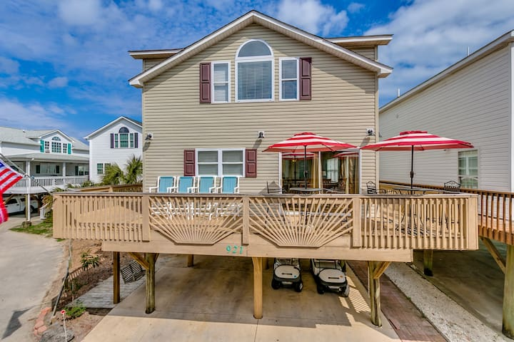 Great Ocean views and just steps to the Beach! - Myrtle Beach - Casa