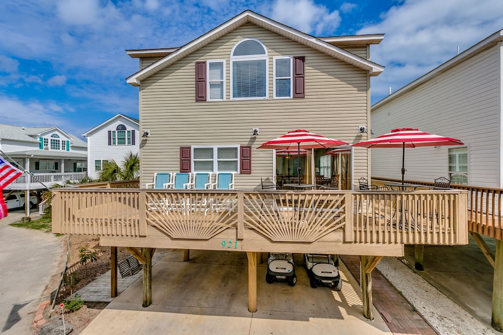 Steps To The Beach Views Of The Ocean Houses For Rent In Myrtle Beach South Carolina