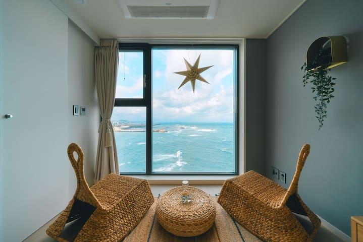 Joy House-Sunset Room C 바다 전망 Sea View