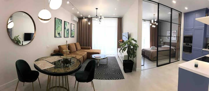 *Luxury apartment in the city center*