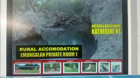 Emungalan Rural Private Room 1 - Bush & Wildlife