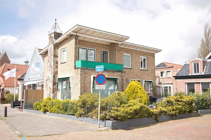 Vrijstaand woonhuis centrum Grou (Moskeflap) - Grou - Haus