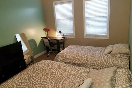 Serene Setting 2 Bed 1 Room Special in Charm City