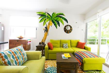 Unique tropical condo within Grand Sirenis Resort