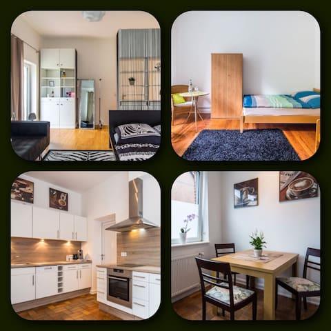 Helle Wohnung mit Garten & Terrasse - Bargteheide - Departamento