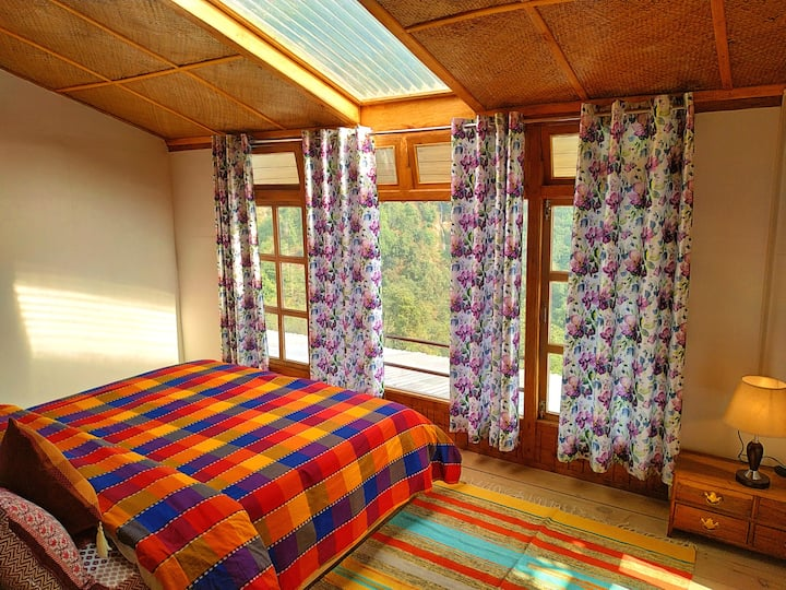 Duplex cottage room with mountain view - Chestnut