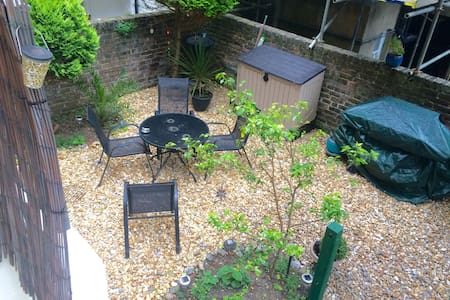 Central Hove Garden Apartment - Appartement