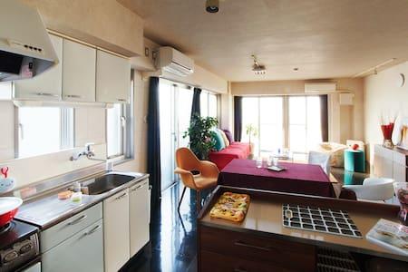 Super Spacious and Modern! 2 Bedrooms, 1min to Sta - Setagaya-ku - Apartment