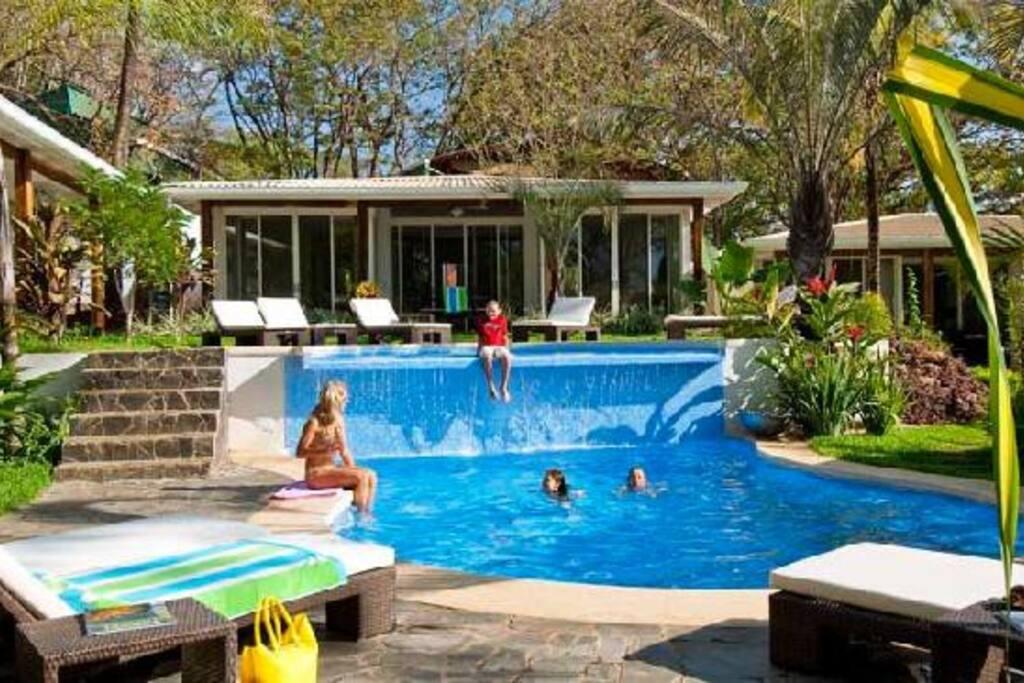 A very inviting pool awaits (Villa Coco Bolo seen)