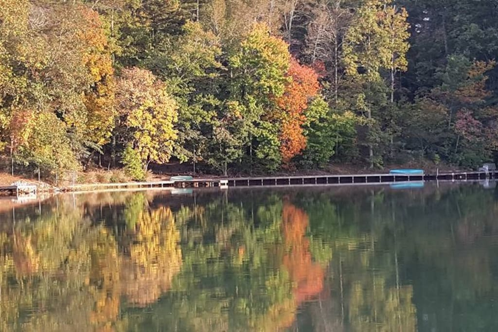 Fall View of Whitewater Lake