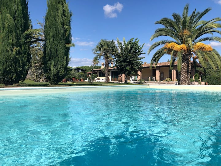 Casale Sant' Angelo Private villa with pool 8 ppl