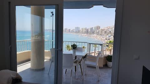 Apartamento  coqueto en la playa de Los Boliches.