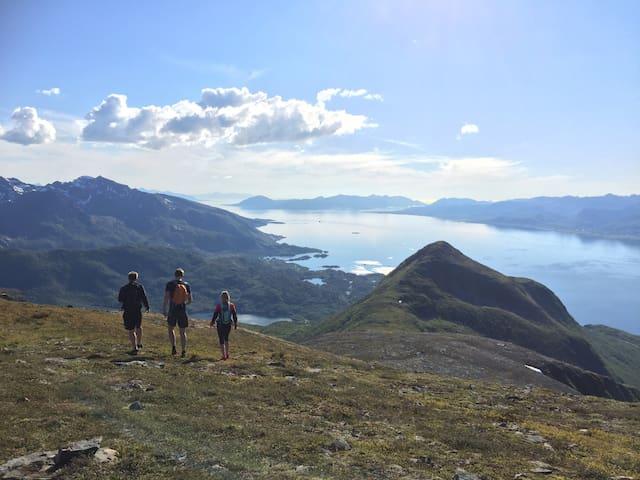 Lille Losji, Sigerfjord - Sortland - Rumah