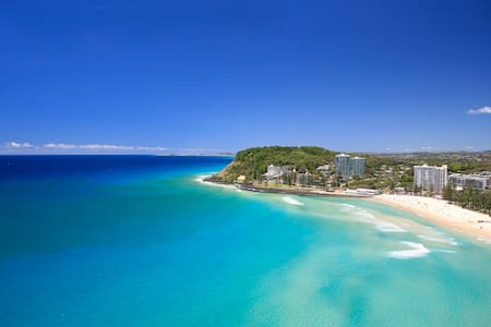 One bed unit 100m to Burleigh Beach - Burleigh Heads