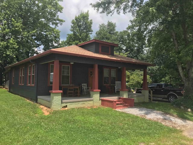 Craftsman house located in downtown Clayton, Ga