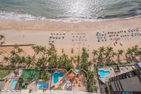 Flat on the beach Recife - Piedade