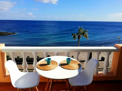 Apartamento frente al mar con preciosos amaneceres