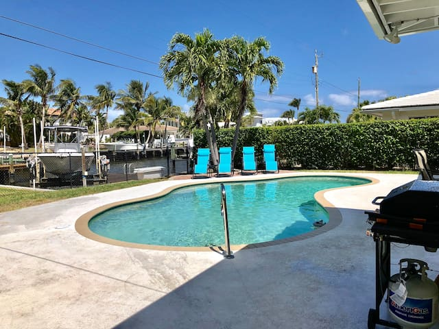 Water front house in Lake Worth