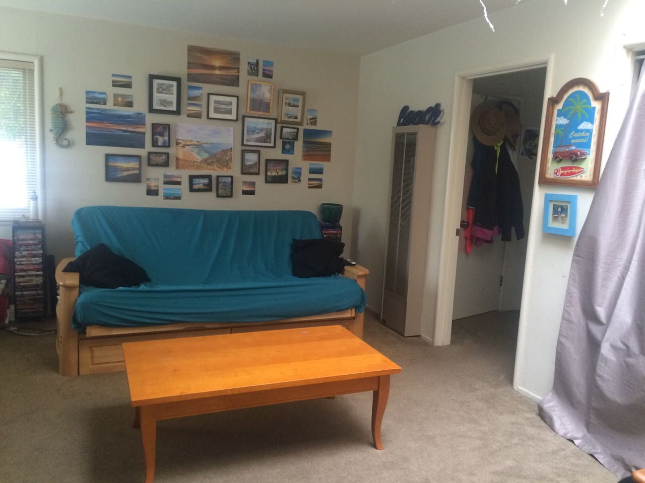 Living room- Futon into Full Size bed