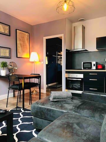 Appartement T2 de 40m2 dans une maison de maître