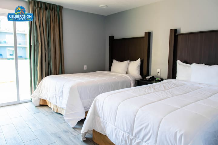 Renovated Suite - 2 Miles from Disney - For 6