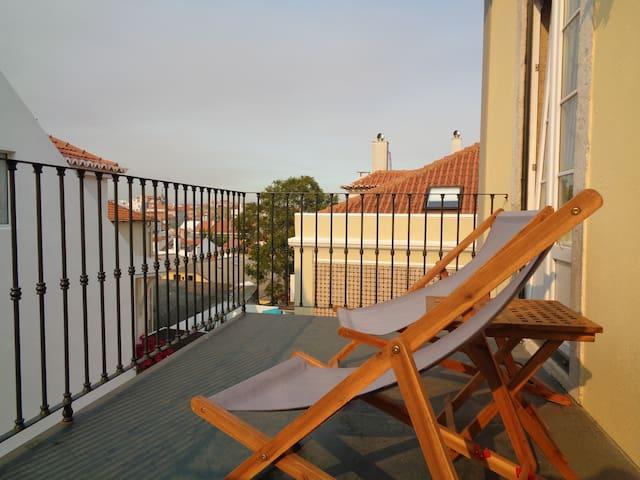 Sunny&central/historical Graça&Alfama (Terrace)