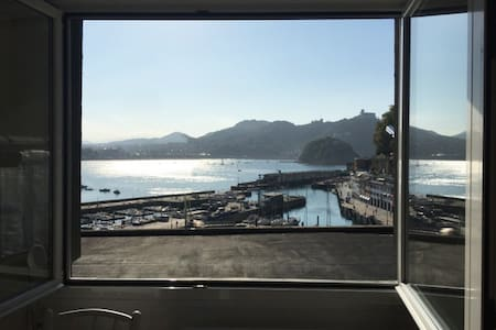 Apartment old area,fantastic views Concha Bay - Apartamento