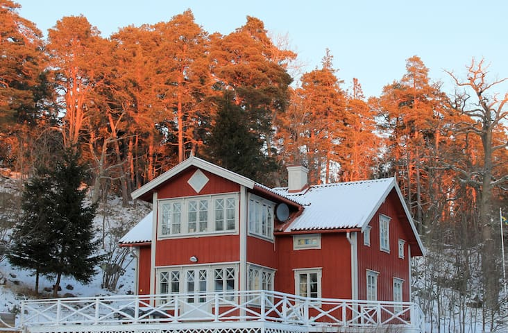 Villa Stockholm Archipelago. Luxury,Forest,Sea!