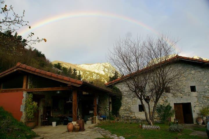 Caserio Larra,parque natural de Urkiola,hab. doble - Mañaria - Huis