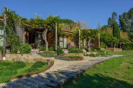 Panoramic Views on an Organic Farm - Tuscania
