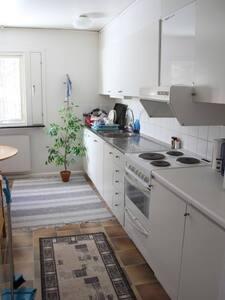 Small Room for 2 in the house Jokkmokk