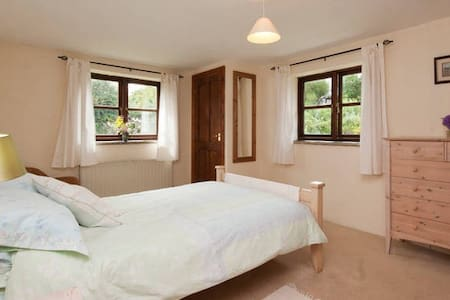 Room 2, Farmhouse, Heart of SDevon - Halwell - Maison