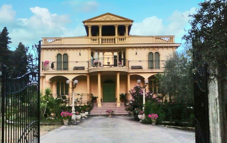Villa Greco: dimora ospitale,elegante e raffinata.