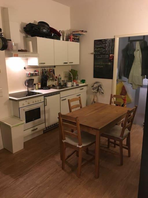 ...und nochmal die Küche