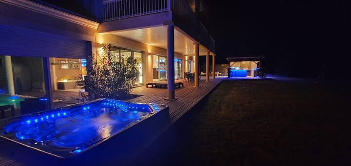 Villa piscine intérieure à 2 pas Bassin Arcachon