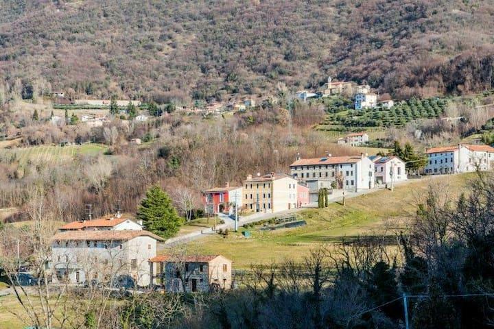 La casa del borgo Cìari int.1.