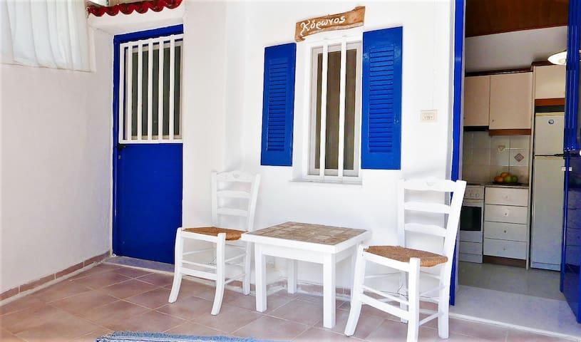 Stella's Home in Koronos-Naxos