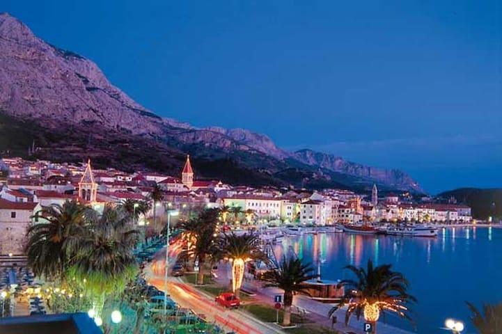 Makarska  city 70km