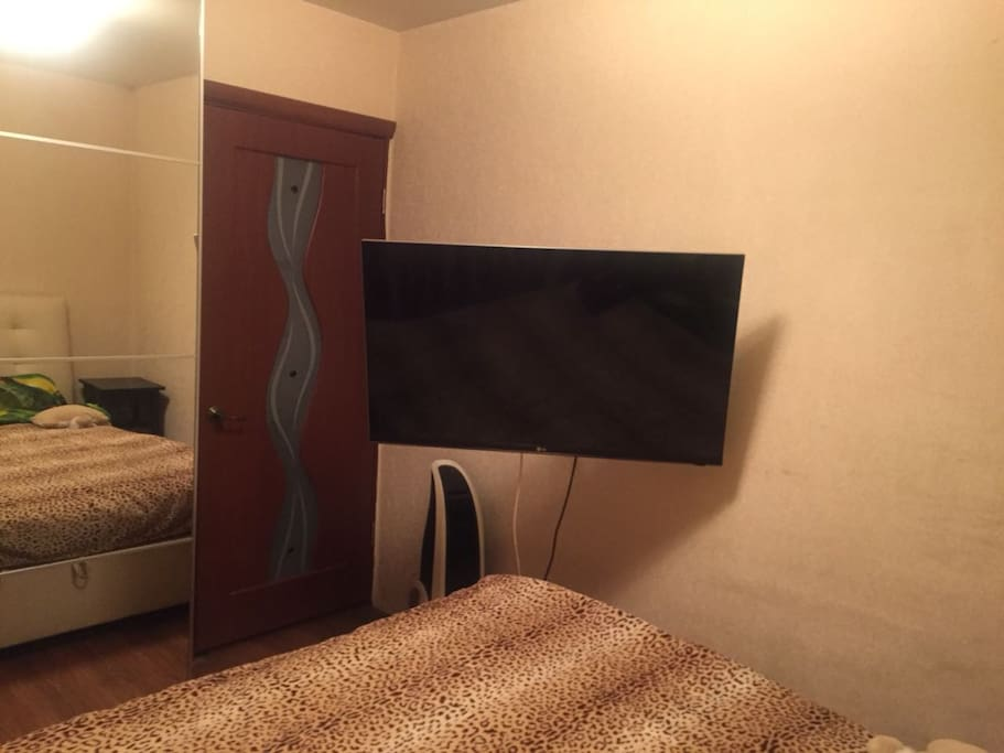 Main bedroom with TV and air-condition