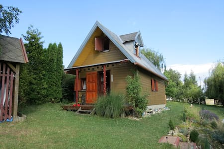 Small wooden house in mountain Bakony - Chalet