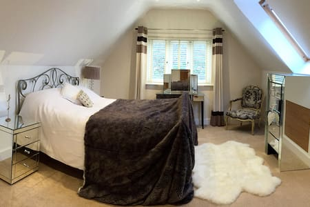 Stunning Room, Brand New House (yoga / hot tub) - Oxfordshire - Rumah