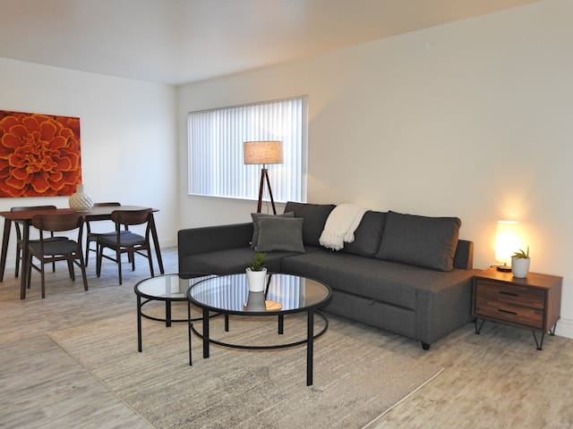 Bright Updated 1 bedroom in Downtown San Carlos